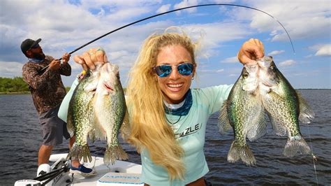 crappie fishing   minnows  lake okeechobee