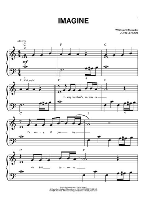 tutorial piano john lennon imagine piano piano tabs imagine john lennon piano tabs or piano