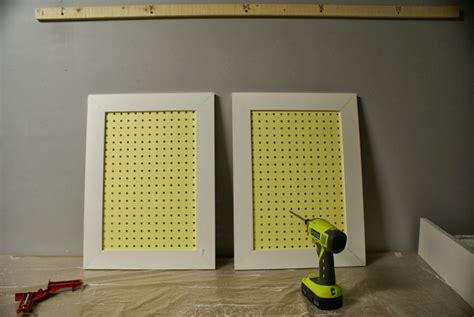 pegboard cabinet doors remodelaholic build an organized pegboard tool cabinet