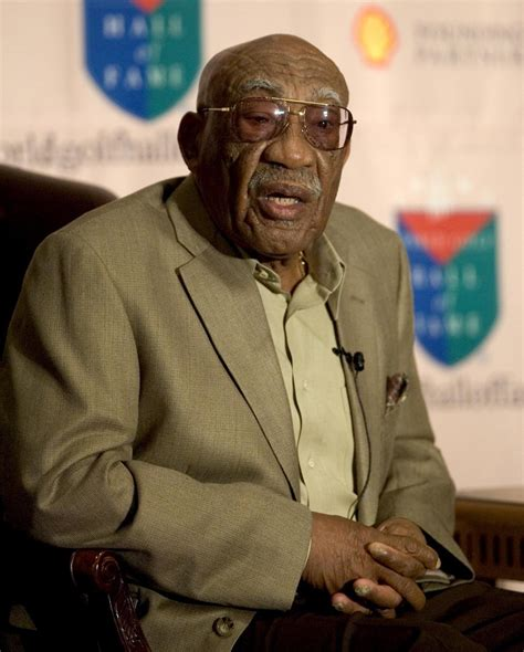 takes his how sifford the color barrier in golf books charlies sifford dies aged 92 tiger woods i would not