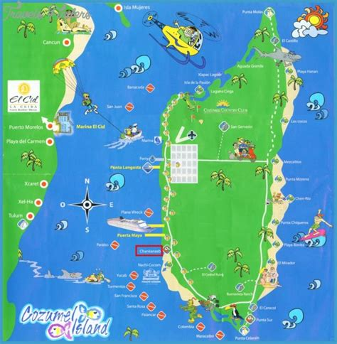 tourist map of mexico mexico map tourist attractions travelsfinders