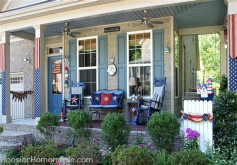 How To Decorate My Room by 4th Of July Front Porch Decorating Ideas Hoosier Homemade