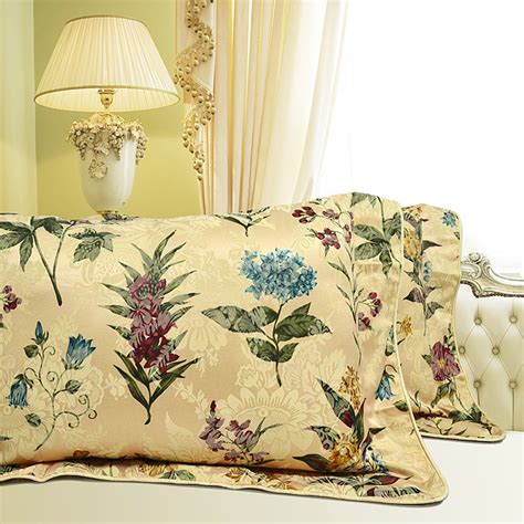 botanical bedding botanical pillow sham