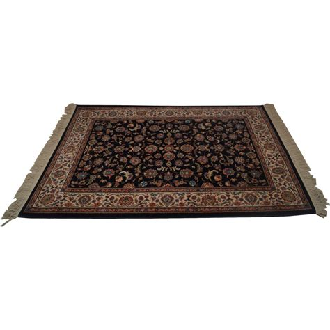 3x6 rugs karastan black kashan 700 796 4 3x6 area rug carpet from bucks county estate traders on ruby