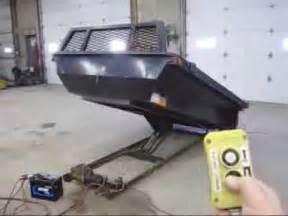 8 electric hydraulic dump bed insert 4 sale
