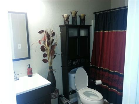 black and red bathroom red and black bathroom decor bathroom pinterest