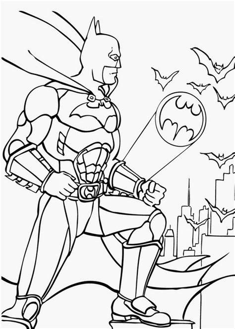 superhero halloween coloring pages print and color super