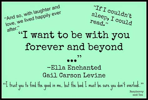 ella enchanted book report ella enchanted quotes quotesgram