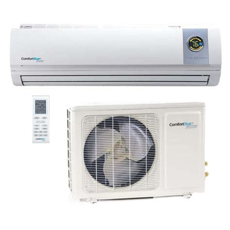 comfort star heat pump comfortstar plus ductless air conditioners parts
