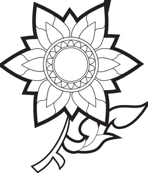 best flower clipart black and white 13576 clipartion flower images black and white free clip free clip clipart best clipart best