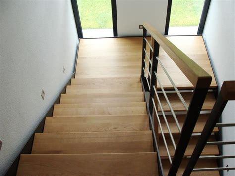 moderne vorgärten podest treppe idee