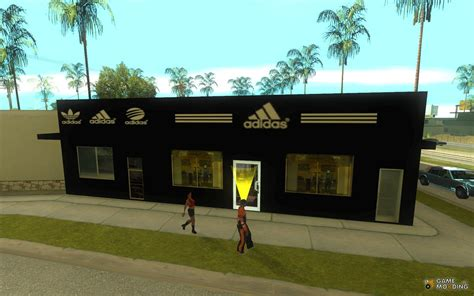 mod game store complete replacement stores for adidas binco for gta san