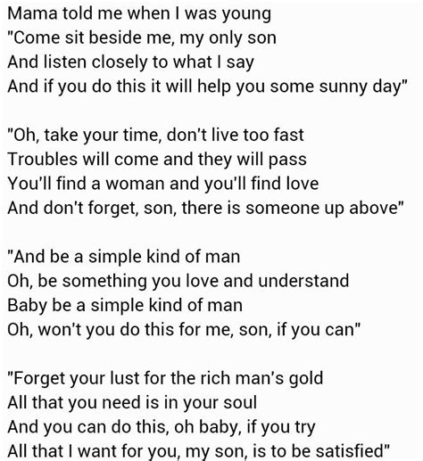 lyrics mankind 11 best images about simple man on songs
