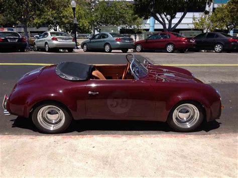 porsche california speedster 1958 porsche speedster for sale classiccars com cc 439058