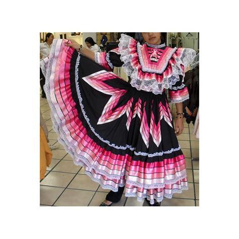 vestidos de escaramuza de gala vestido para escaramuza negro con listones rosas