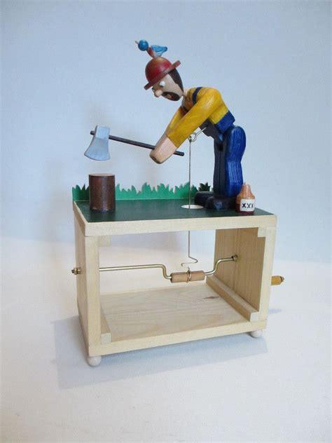 automata toys wood wood chopper automata   automator