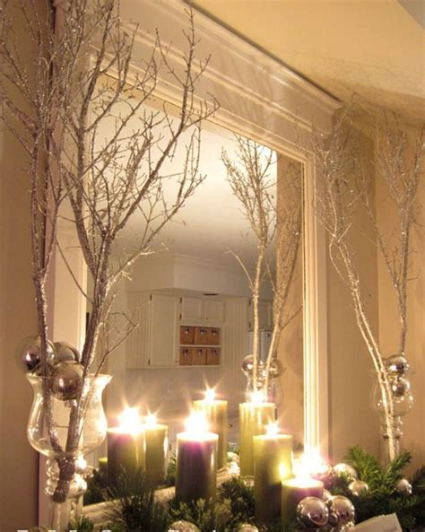 using a birch branch tree for a christmas tree branches to decorate for decorating ideas with tree branches9