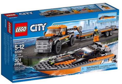lego boat and truck lego city 7726 coast guard truck with speed boat i