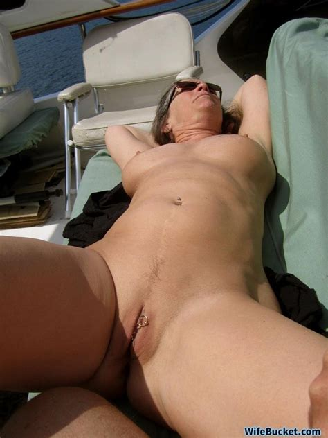 Mature Wife Michelle Exposed Naked