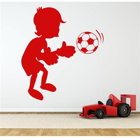 football wall sticker wallstickers folies football wall stickers