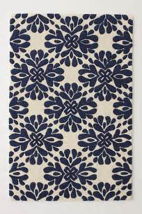 Anthropologie Kitchen Rug Coqo Floral Rug Navy Contemporary Rugs By Anthropologie
