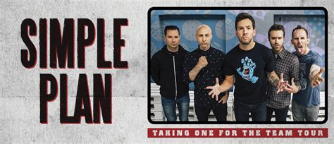 simple plan official website taking one for the team simple plan 2016 australia official tickets concert dates