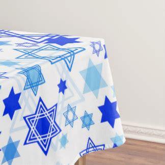 hanukkah tablecloths zazzle