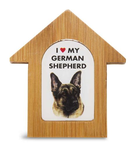 dog house for german shepherd german shepherd wooden dog house magnet 3 5 x 3 in self standing
