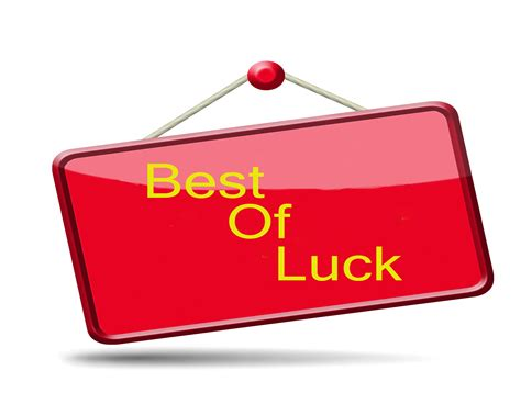 bet of luck best of luck greeting hd wallpaper latest hd wallpapers