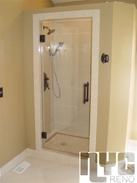 Single Shower Doors Glass Single Door Custom Glass Shower Doors Nyc Reno