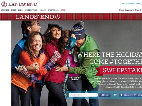 Lands End Holiday Sweepstakes - lands end where the holidays come together sweepstakes