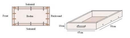 schublade selber bauen bauanleitung schublade mit bauplan