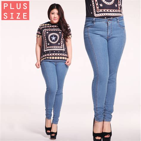 jean styles and cuts for plus sizes free shipping 2015 skinny jeans woman blue bootcut jeans