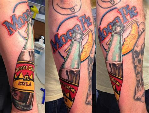 blue fin tattoo moon pie and rc cola it s a southern thing by blue