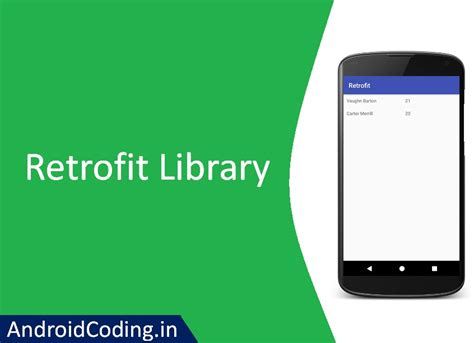 android studio retrofit tutorial androidcoding in a whole new world of android
