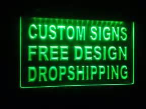 make your own led light bar design your own custom adv led neon light sign bar open