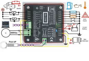 авто генератор электрическая схема