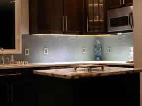 Kitchen Glass Backsplash Ideas Kitchen Colored Glass Subway Tiles