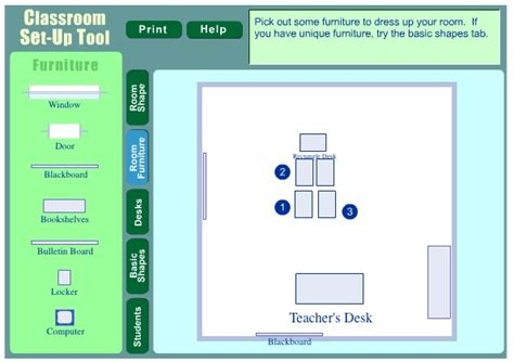 classroom layout editor classroom set up tool by scholastic plan out your