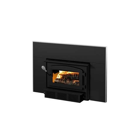 Drolet Fireplace Wood Insert by Drolet Escape 1400 I Wood Burning Fireplace Insert Trio