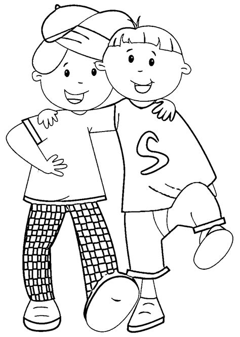 coloring pages with friends best friend coloring pages coloringsuite com