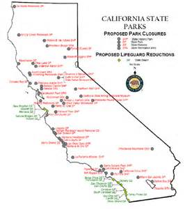 map of california state parks deboomfotografie