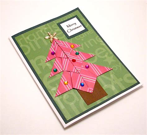 Origami Tree Card - origami tree card a photo on flickriver