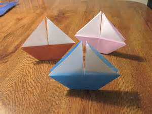 Origami Sailboat That Floats - float your boat 20 different ways darlene beck jacobson