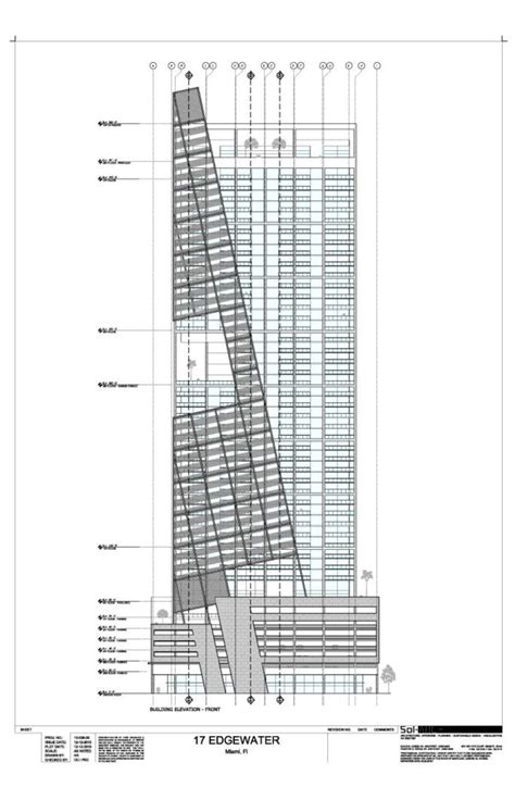 17 best images about projects for edgewater the design miami 17 edgewater 400 ft 40 floors skyscraperpage