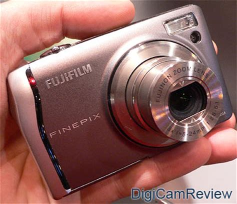 Fujifilm Finepix Z5m Ultracompact Digicam In Pink by Digicamreview Focus Fujifilm Finepix F40 On