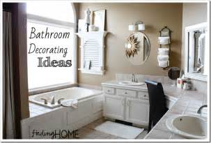 Decorative Ideas For Small Bathrooms by 7 Bathroom Decorating Ideas Master Bath Finding Home Farms