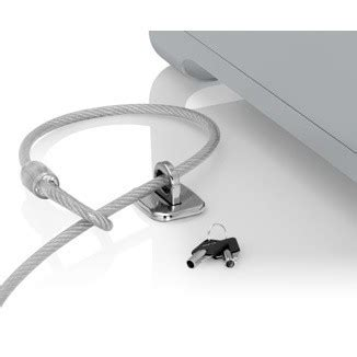how to lock a laptop to a desk imac lock new imac cable lock with patented security