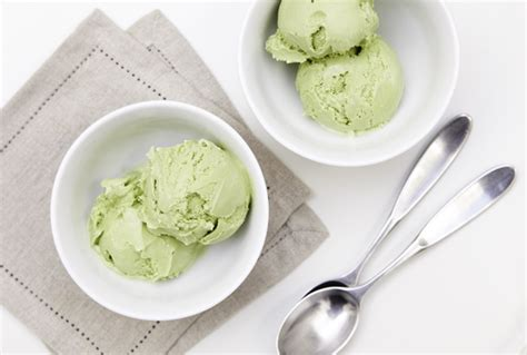 membuat ice cream green tea groene thee ijs recept lactosevrij airmagazine