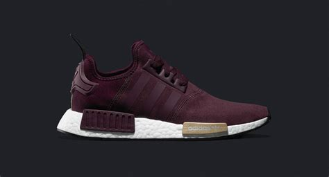 Adidas Nmd R1 Maroon Suede S75231 Authentic Original adidas nmd r1 runner suede w maroon where to buy